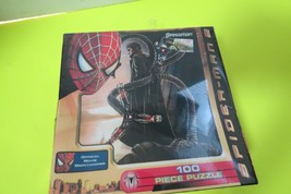 Spider Man 2 100 Piece Puzzle Official Marvel Pressman 2003 New Sealed - $10.00