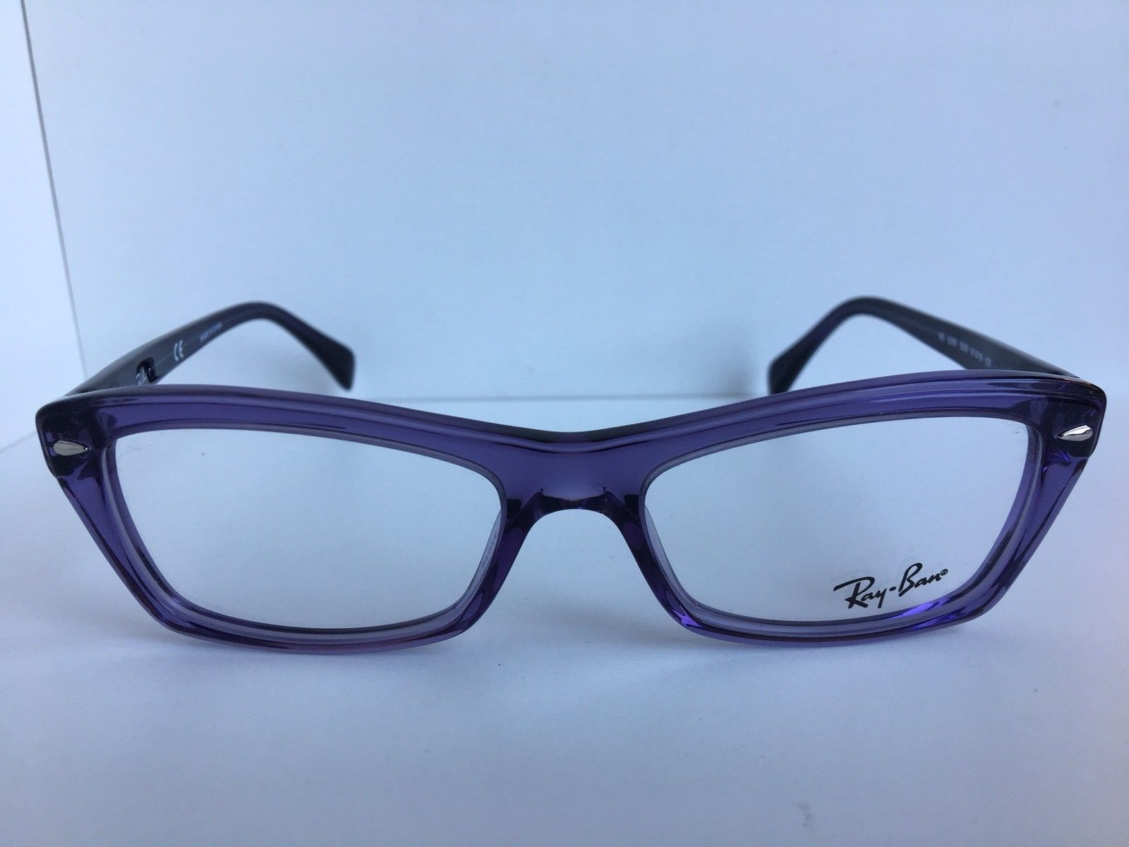 86b1abb5af New Ray-Ban RB 5255 5230 51mm Purple Clear and 50 similar items