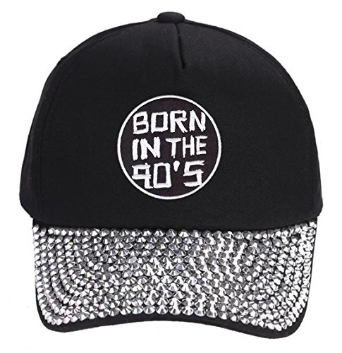 Born In the 90s Hat - Style and Color Options (Rhinestone)