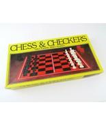 Vintage Whitman Chess & Checkers 1981 Board Games Set - £5.75 GBP