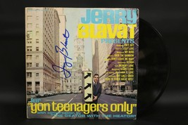 """Jerry Blavat Signed Autographed """"For Yon Teenagers Only"""" Record Album - $49.99"""