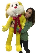 American Made Giant Stuffed Bunny 50 Inch Soft ... - $97.11
