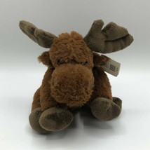 "Unipak Fara Moose Plush 7"" Brown 2014 - $15.83"