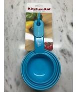 TURQUOISE 4 PC KITCHENAID MEASURING CUP SET - $12.00