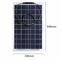 30W 12V Mono Semi Flexible Solar Panel Battery Charger For RV Boat - $54.45