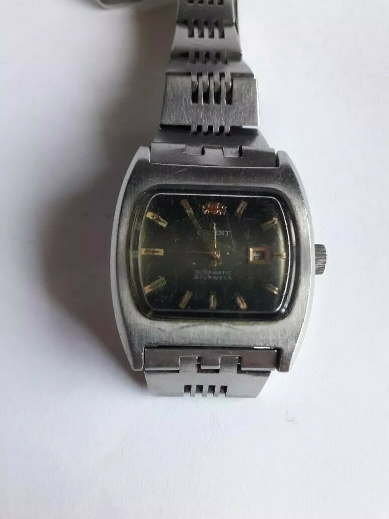 Primary image for Automatic Orient  Lady wrist watch 70´s Check Stock