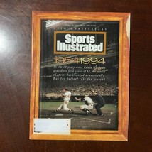 Sports Illustrated August 16 1994 40th Anniversary Eddie Mathews MLB Bas... - $3.96