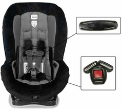Britax Roundabout Baby Car Seat Harness Chest Clip & Buckle Set Vehicle ... - $19.79