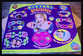 IMAGINE NATION Picture Bracelets Craft Kit Use Your Photos Gift New - $16.65