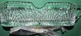 """Crystal Flatware Storage Caddy with 12 New Oneida Silver Spoons 12"""" Long - $40.56"""