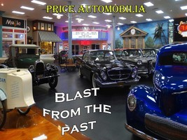 Blast from the Past Theater Classic Cars Price Automobilia Collection Metal Sign - $30.00