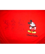 Disney Florida Red Mickey Mouse T-Shirt  Size Med - $14.00