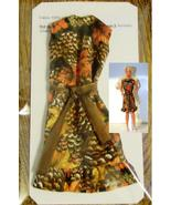 "11.5"" Fashion Doll-Size Clothes New Fall Colors Shift-Dress Vintage Design - $7.99"