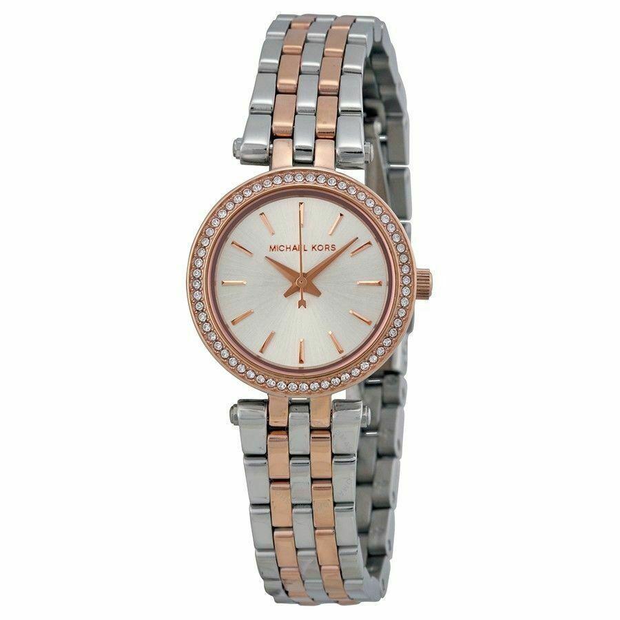 Michael Kors MK3298 Mini Darci Two Tone Glitz Womens Watch - $60.44