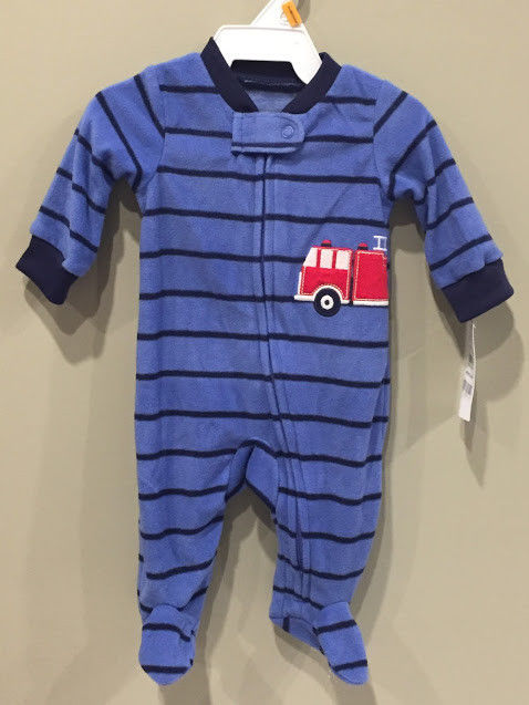 e9696e21b Carters Baby Boy Newborn Fleece Footed and 50 similar items. S l1600