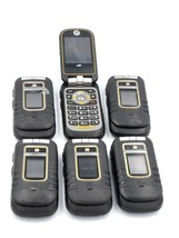 Lot of 6 Motorola Brute i686 - Black (Nextel / Sprint) Cellular Phone - ... - $148.45