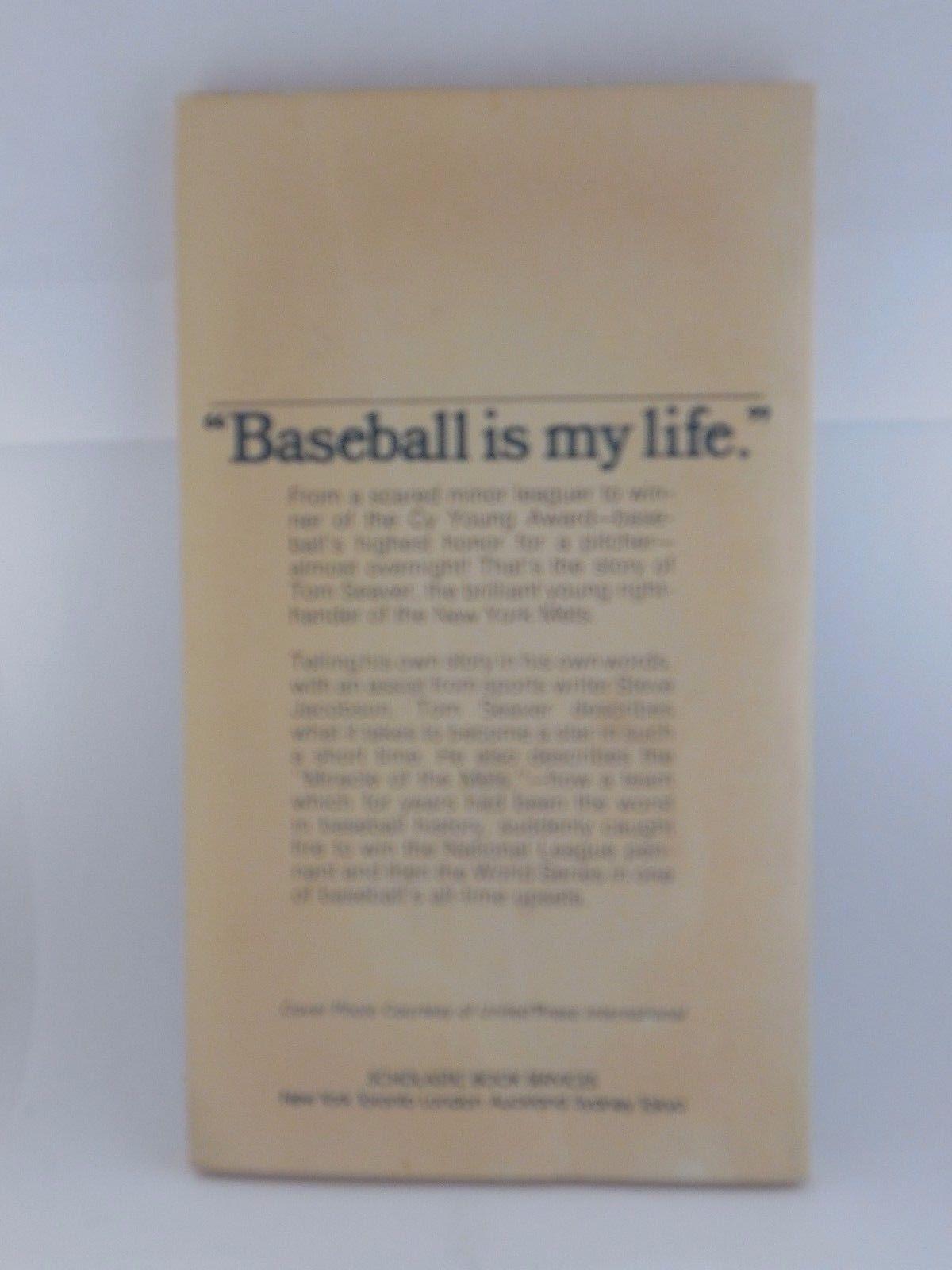 "Tom Seaver ""Baseball Is My Life"" NEW YORK METS Book MLB baseball memorabilia"