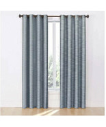 Eclipse Deron Blackout Grommet Single Window Curtain Panel, 52x84in, Lake - $40.00