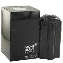 Mont Blanc Montblanc Emblem Cologne 3.3 Oz Eau De Toilette Spray image 3