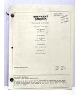 Diff'rent Strokes Willis Goes To College Final Draft Script 09/17/85 Epi... - $299.99
