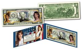 MELANIA TRUMP 45th President FIRST LADY OFFICIAL Legal Tender U.S. $2 Bi... - $13.98
