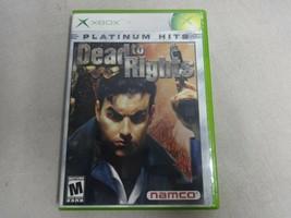 EUC Dead To Rights Original Microsoft Xbox Game & Case No Manual Free Ship - $22.45 CAD