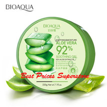 BIOAQUA 92% Moisturizing Natural Aloe Vera Soothing Soft Refresh Skin Ge... - $3.41