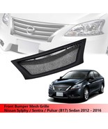 Front Grille Grill For Nissan Sylphy / Sentra / Pulsar (B17) Sedan 2012 ... - $108.46
