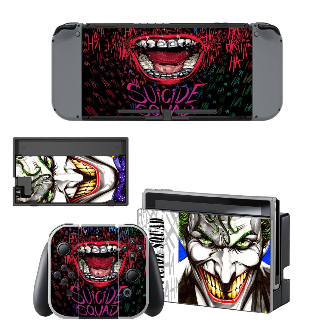 The joker vinyl decal for Nintendo switch console sticker skin