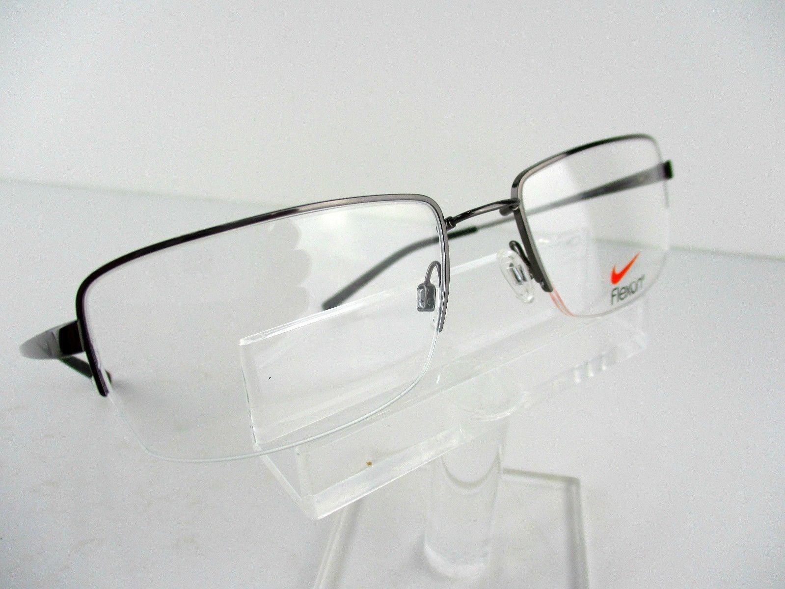 977b3d8ebdb Nike FLEXON 4195 (010) Dark Gray   Black 56 x 19 145 Eyeglass Frames -   84.60