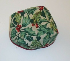 Longaberger Holiday Helper Liner ONLY New 27845135 American Holly - $14.84