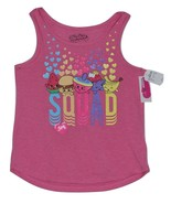 Girls' Shopkins Twofer Tank Top - Pink / Gray L (10/12) 2 Tank Tops - $7.50