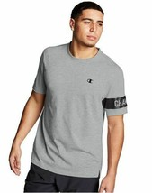 Champion Men's Short Sleeve T-Shirt w/Block Logo - 3 COLORS - S-2XL - $23.74