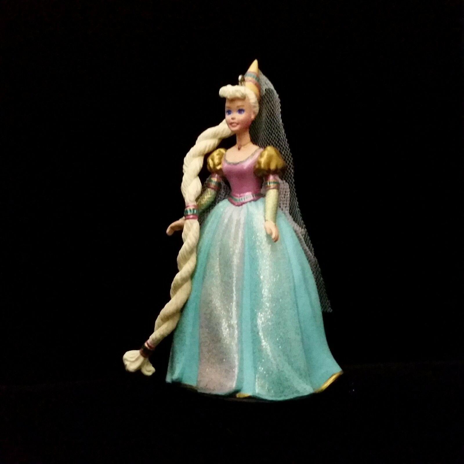 Rapunzel Barbie Ornament Christmas Hallmark Keepsake Children's Series 1997