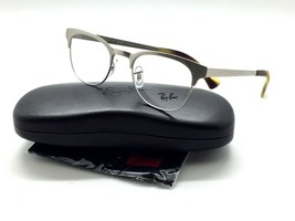 New Ray-Ban  RB 6317 RB6317 2835 49mm Silver  Clubmaster Eyeglasses Frame  - $87.27