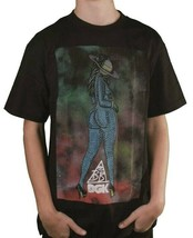 Dgk Dirty Ghetto Kids T-Shirt Grand Boots Sortie de Ce Monde Noir BB T-Shirt