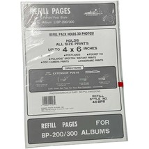 "NEW Pioneer Photo Album Refill Pages 46-BPR 4""x6"" BP-200/300 X-Pando 30 ... - $14.99"
