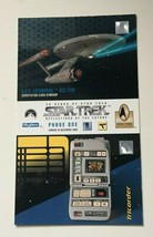 1995 SKYBOX 30 YEARS OF STAR TREK PROMO CARD - $0.99