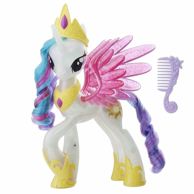 My Little Pony Prinzessin Celestia Glitzer & Leuchtende Hasbro Freundschaft