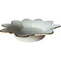 Lenox Meridian Collection Open Candy Dish With Gold Trim - Discontinued - $19.99