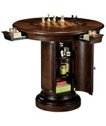 Howard Miller 699-010 (699010) Ithaca Pub & Game Table, Chess or Dining Top - £1,849.52 GBP