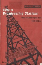 Guide to Broadcasting Stations (1968 edition) - $5.00