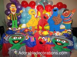 Sesame Street Wood Standee   3  feet Birthday D... - $49.99