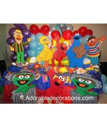 Sesame Street Wood Standee   3  feet Birthday Decorations Room   Photo Props - $49.99