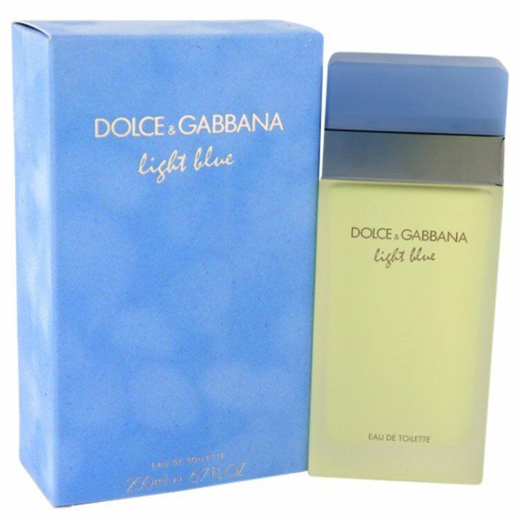 Dolce & Gabbana Light Blue Perfume 6.7 Oz Eau De Toilette Spray