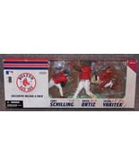 2005 McFarlane Toys Boston Red Sox Exclusive 3 Pack Figures New In The Box - $79.99