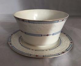 Vintage Alfred Meakin Staffordshire England MEA12 Flower Basket Bowl Bre... - $26.17