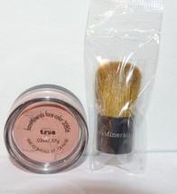 1 Bare Minerals All Over Face Color True .02 oz & 1 mini baby Kabuki Brush - $225,32 MXN
