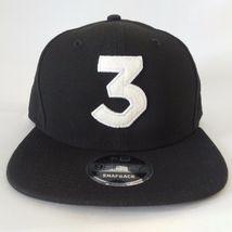 3 Chance The Rapper Black Genuine New Era Hat Embroidered - $27.00