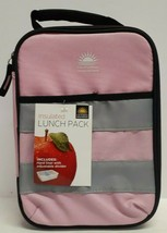 California Innovations Insulted Lunch Box Pink With Hard Liner And Divid... - $16.69